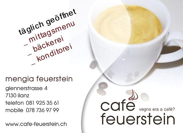 Inserat_Cafe Feuerstein